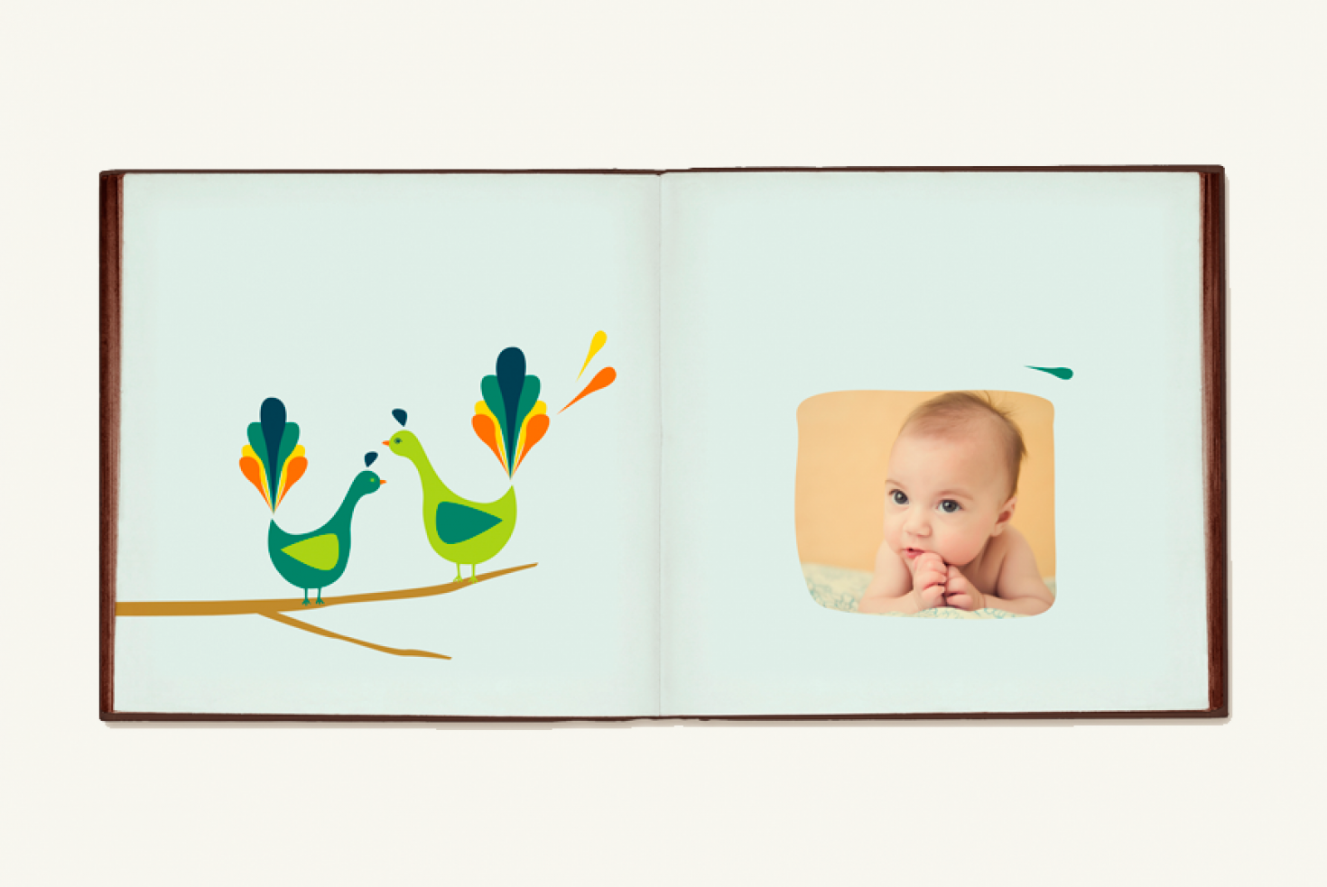 Nest Baby Album Shopgalleree Photography Marketing Design
