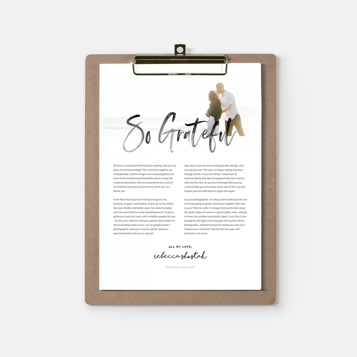 year s end client gratitude letters shopgalleree com photography